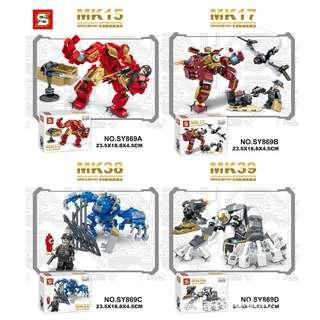 SY™ 869 Iroman 4in1 Mech Suit Sets