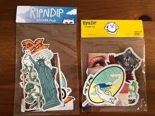 🚚 Ripndip Sticker Set