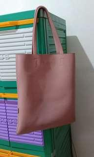 Totebag Miniso - Dusty Pink