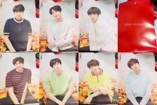 BTS LOVE YOURSELF JAPAN TOUR POSTER