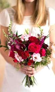 Bridal bouquet - Red Roses Bouquet