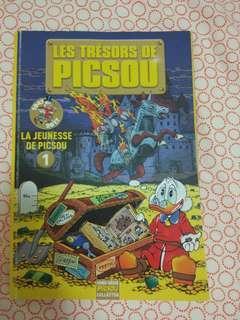 Picsou book (french language)