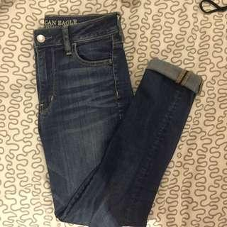 SIZE 25 REGULAR AE JEANS