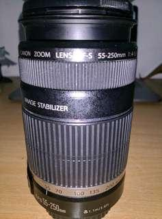 Canon Zoom Lens EF-S 55-250mm IS (Second / 2nd)
