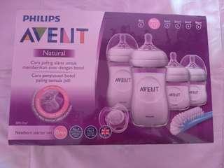 feeding bottle starter set