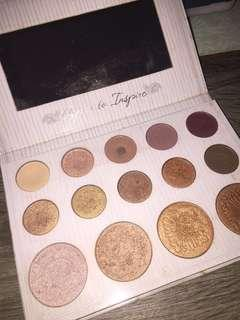 Carli Bybel eyeshadow palette