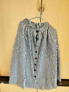 🚚 夏季格子裙