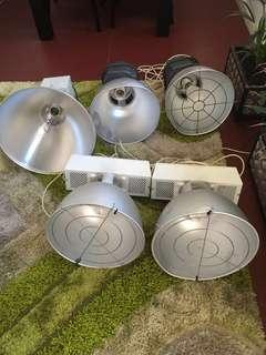 Hydro grow lights x 5 $200 the lot or $50 each pick up only perth