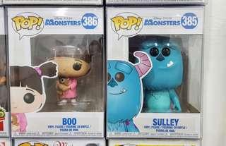 Boo and Sulley Monster Inc. Set - SOLD!