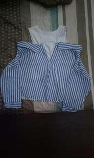 Kaos kemeja wanita