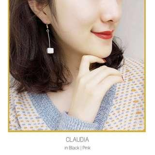 Retro Square Dangling Earrings