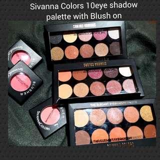 Sivanna Palette 10's eyeshadow make u