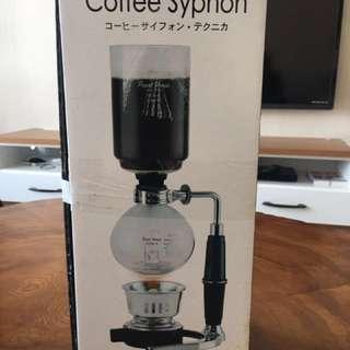 🚚 虹吸式咖啡壺 附贈便擕型磨豆機