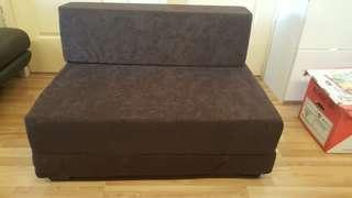 Reduced in price: New sofa, folds into sitting cube and bed