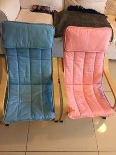 (ALL FOR RM150) Ikea Poang children chair