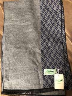 50-60年代古董鱷魚牌男裝頸巾(全新)