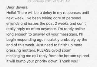 Delayed Responses