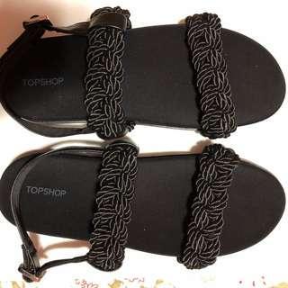 Topshop sandals size 41