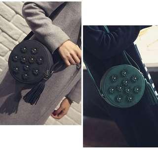Korean Style Flower Sling Bag