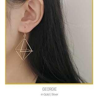 Hollow Lantern Earrings