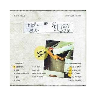[Pre-order] LOCO 로꼬 (EP) - HELLO