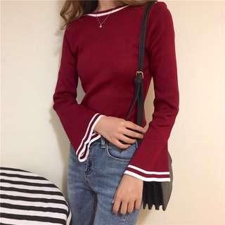 Knitted Long Sleeve Top #JAN50