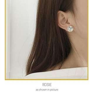 Marble Stud Earrings