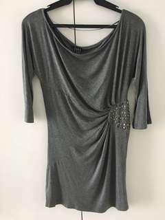 Zara gray dress