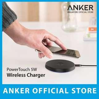 Anker PowerTouch 5W Wireless Charger With LED Light