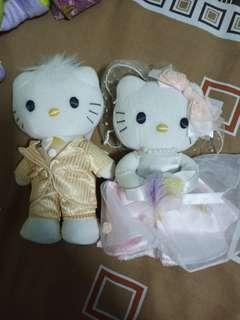 wedding kitty doll