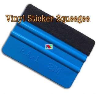 Vinyl sticker squeegee
