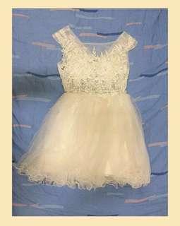Graduation Dress (Off White)