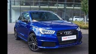 CSI  Blue Audi Hatchback SLD9321B
