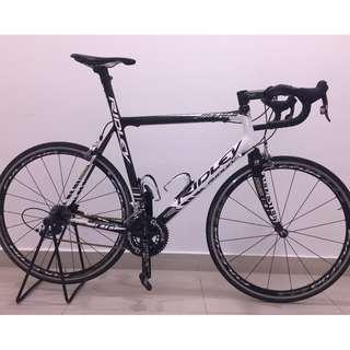 Ridley Helium Full Carbon SRAM RED 57cm (L) + Rotor Qrings