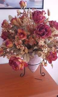 Artificial Flower with vase stand