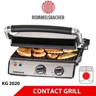 ROMMELSBACHER KG 2020 MULTI CONTACT GRILL