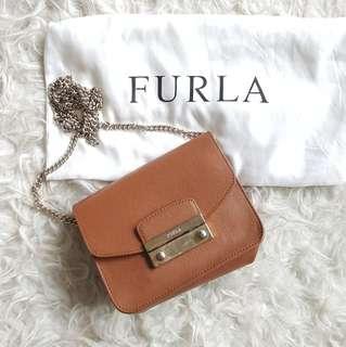 FURLA Metropolis Brown Leather