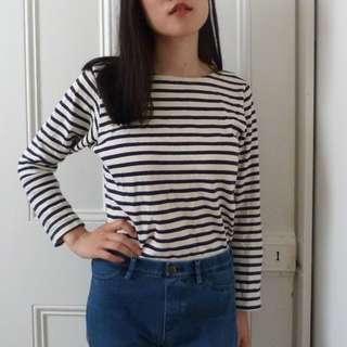 REMO Long Sleeved Striped Shirt