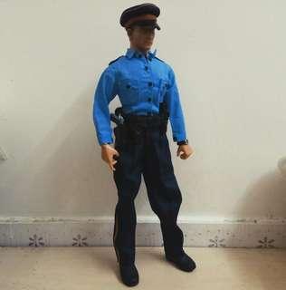 12吋 1:6 Customized US Police Officer Figure 自組美國警察公仔