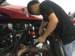 Ferrari or Maserati Private Workshop Maintenance and Repair Work