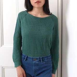 Princess Highway Green Knit Jumper