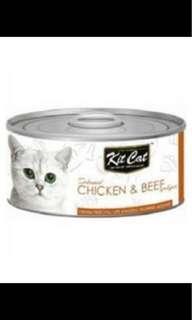 Kit Cat Chicken & Beef (80g-carton) (PRE ORDER)