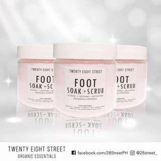 28 street FOOT SOAK SCRUB