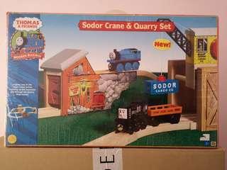 Thomas & Friends Sodor Crane & Quarry Set