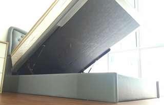 Queen Mattress Storage Bed
