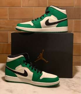 2be0f80abf158d Air Jordan 1 Mid SE( Pine Green)
