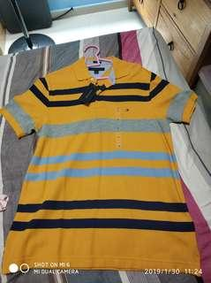 Brand new tommy hilfiger polo t shirt
