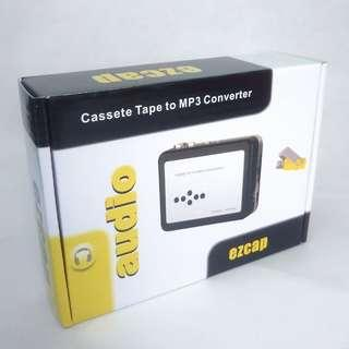 (BNIB) EZCAP Portable Cassette Player & Direct USB Flash Drive Audio Converter (Brand New Boxed)