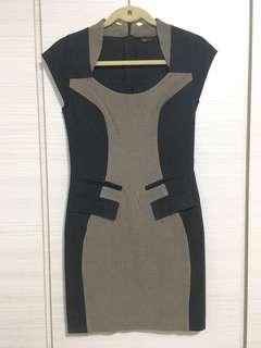 Slim-cutting Dress