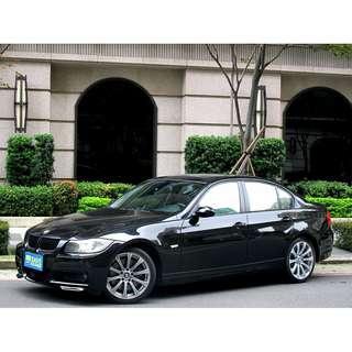原鈑件 save認證 BMW 320D柴油 總代理 M空力套件 M鋁圈 四出尾管 光感HID大燈 倒車顯影